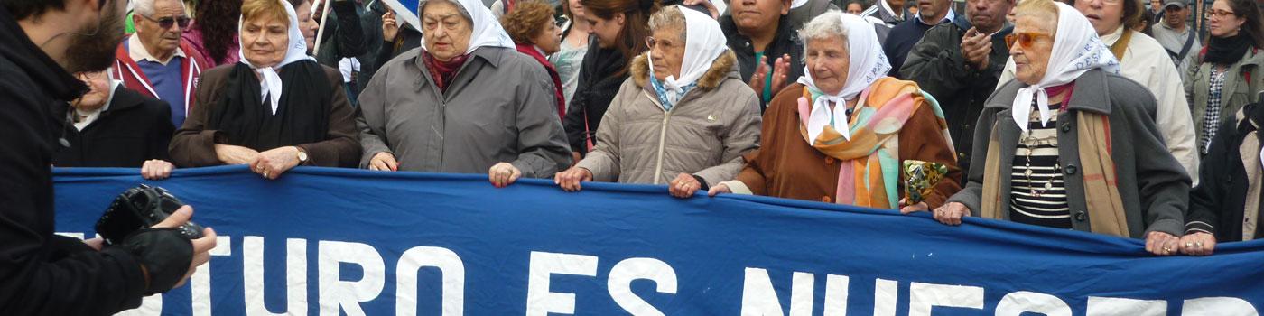 Mères de la place Mayo à Buenos Aires